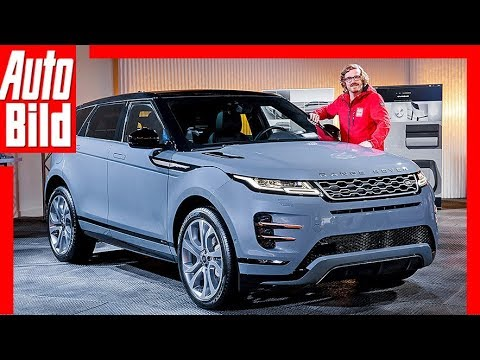 range rover evoque ll 2019 vorstellung sitzprobe. Black Bedroom Furniture Sets. Home Design Ideas