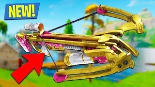 NEW *FORTNITE CROSSBOW* UPDATE OUT NOW!! (Fortnite Battle Royale)