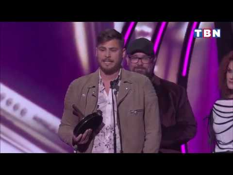 """2018 Worship Song of the Year Award """"Reckless Love"""" Acceptance Speech by Cory Asbury"""