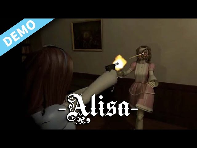 New Indie fixed camera 90's inspired Survival Horror | Alisa | PC DEMO
