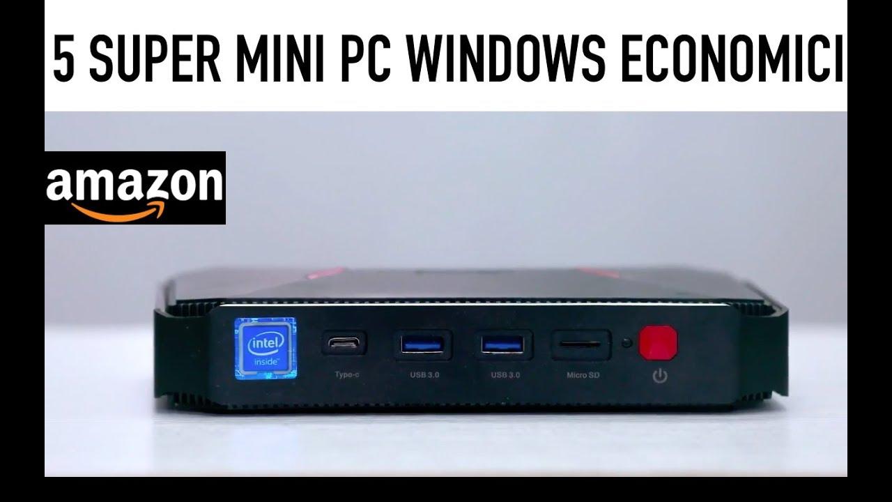 ✭ Top ✭ 5 MINI PC WINDOWS ECONOMICI da acquistare su AMAZON ✅