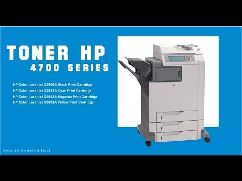 Recarga de Toner HP 4700, Q5950A, Q5951A, Q5953A, Q5952A