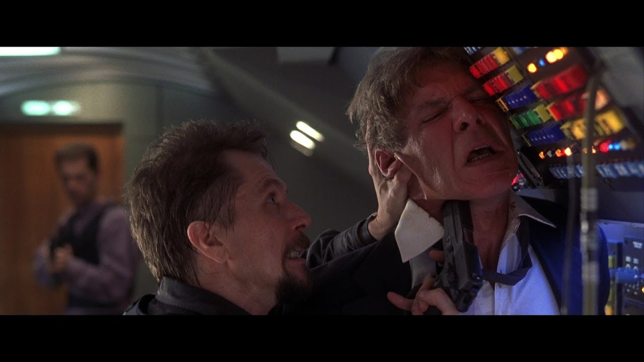Download Air Force One 1997 -  Harrison Ford, Gary Oldman, Action, Drama FULL HD.