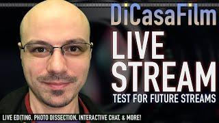 DiCasaFilm Live Stream - Testing for Streams starting in June!