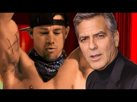 Channing Tatum Wants George Clooney In Magic Mike 3