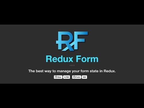 Basic redux-form