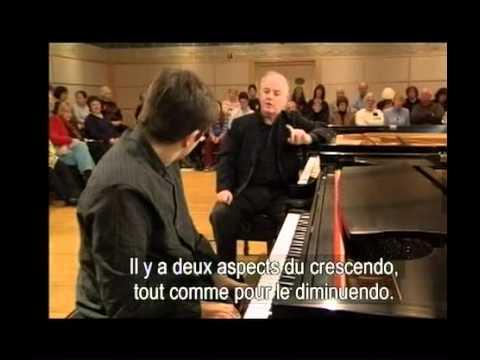 Masterclass piano Barenboim Beethoven sonate n 31