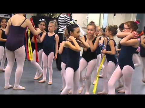 Erin's Ribboned Ballet Class in Greta Leeming Studio, Ottawa
