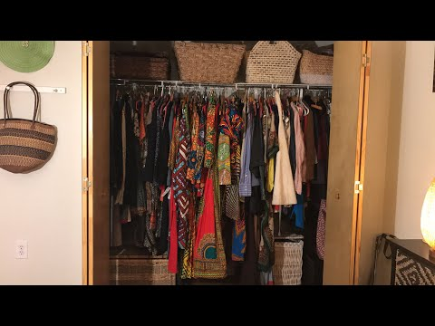 Closet Organizing Reveal Afrocentric