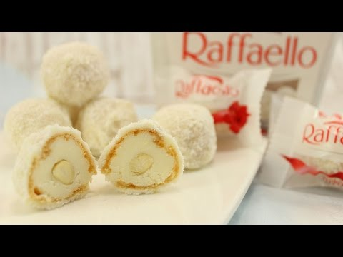 Kokospralinen wie Raffaello selber machen