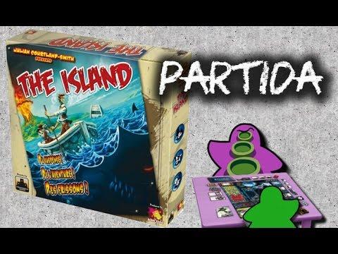 The Island - Español - Partida Juego de Mesa - Gameplay