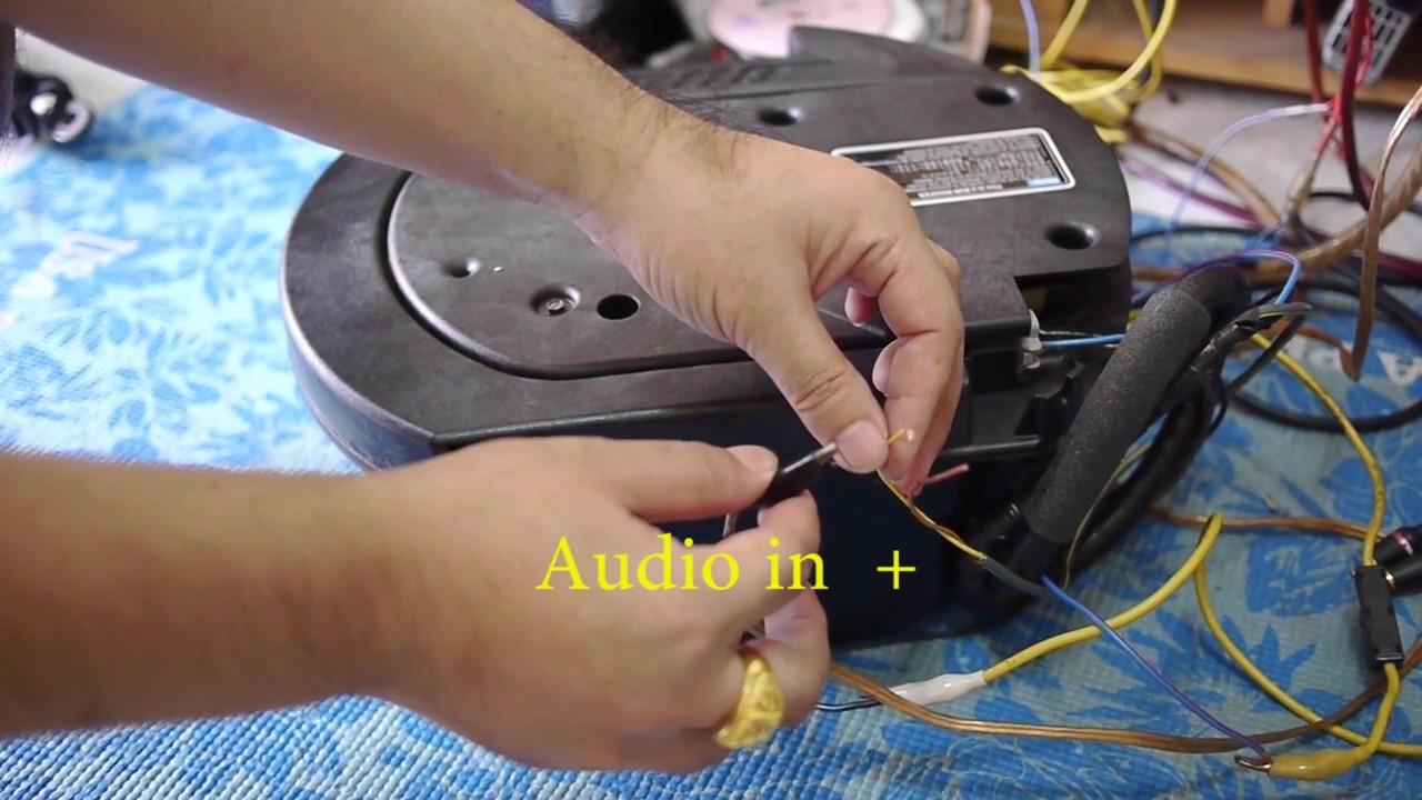 Bose Subwoofer Speaker GJ5A 66 960  YouTube