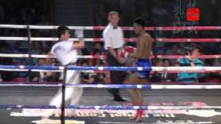 WTF Taekwondo VS Muay Thai 2009