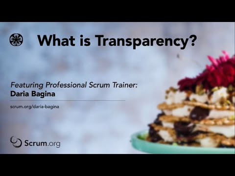 What Is Transparency?