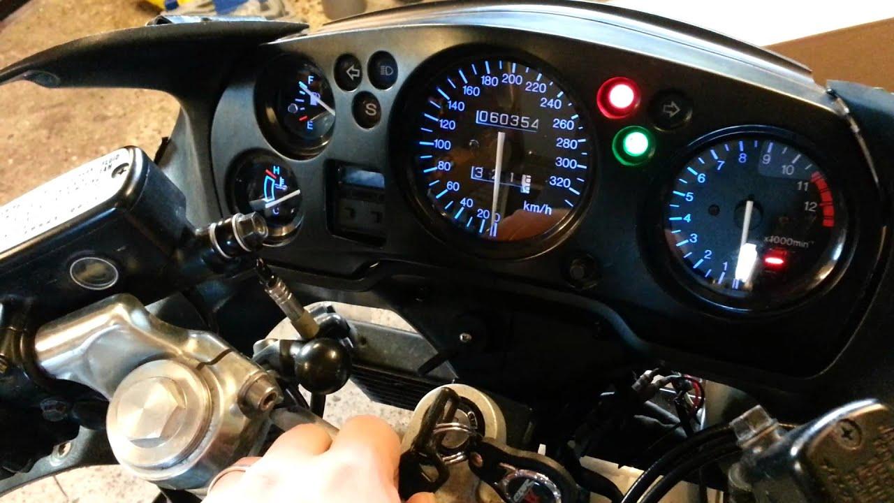 Honda CBR1100XX Super Blackbird HealTech Gipro in-dash ...