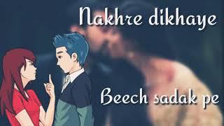 Whatsapp status-**ladki aankh maare😘😍😉😉