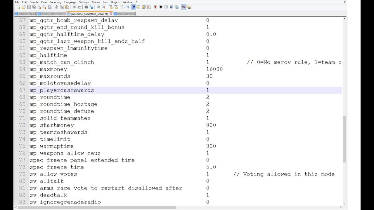 Dedicated server build d h