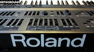 Roland JD 800 Digital Synthesizer 1991 Film Scoring Sounds