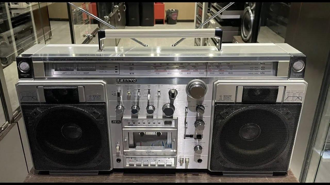 vintagemoscow sanyo mr 920. сравниваем японскую и европейскую версию