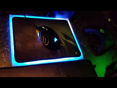 Corsair lighting node pro DIY RGB Mousepad