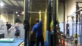 Ninja warrior One arm salmon ladder progression