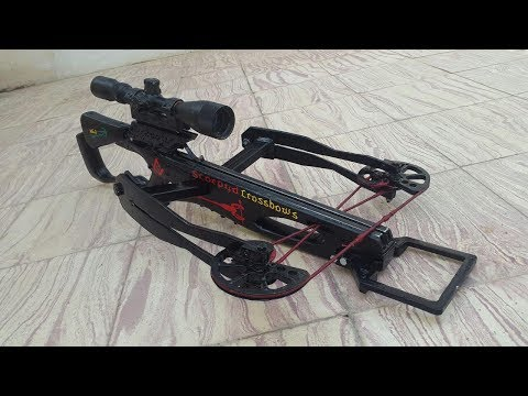 This video shows how you can make  a powerful reverse crossbow 1/2