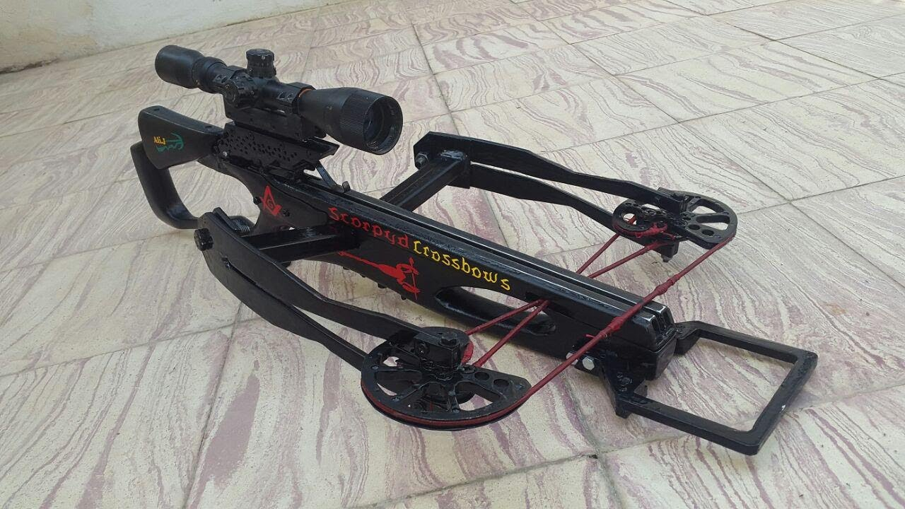 how you can make a powerful reverse crossbow 1/2