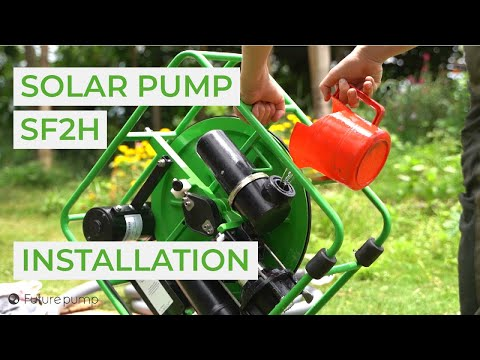 Installing Your SF2H - The Solar Powered Water Pump Built To Last!