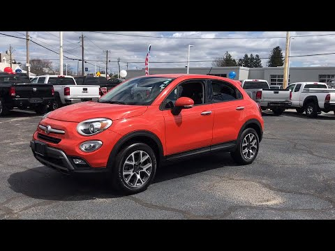 2016 FIAT 500X Fall River, Dartmouth, New Bedford, Wareham, MA, Tiverton, RI S6134