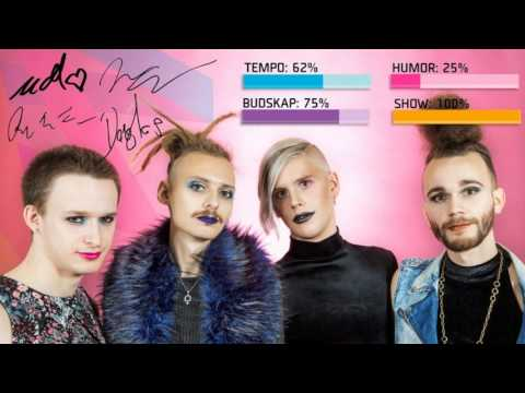 Dismissed – Hearts Align (Melodifestivalen 2017 - AUDIO PREVIEW)