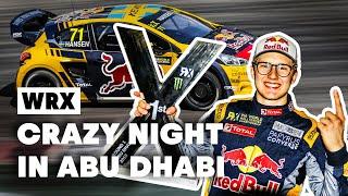 Dramatic Weekend Of Rallycross Action In Abu Dhabi   WRX 2019