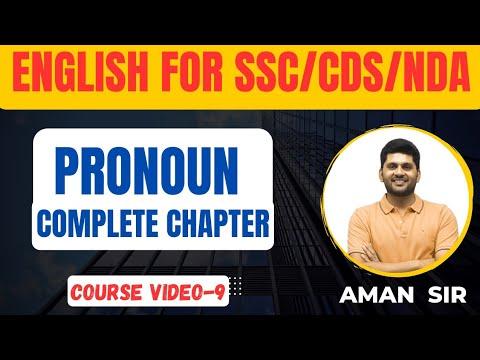 PERSONAL PRONOUN || PRONOUN COMPLETE CHAPTER || TYPES OF PRONOUN || PRONOUN ||FULL COURSE FOR SSC