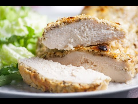 Tender And Juicy Baked Chicken Breast - Low Carb Keto Recipe