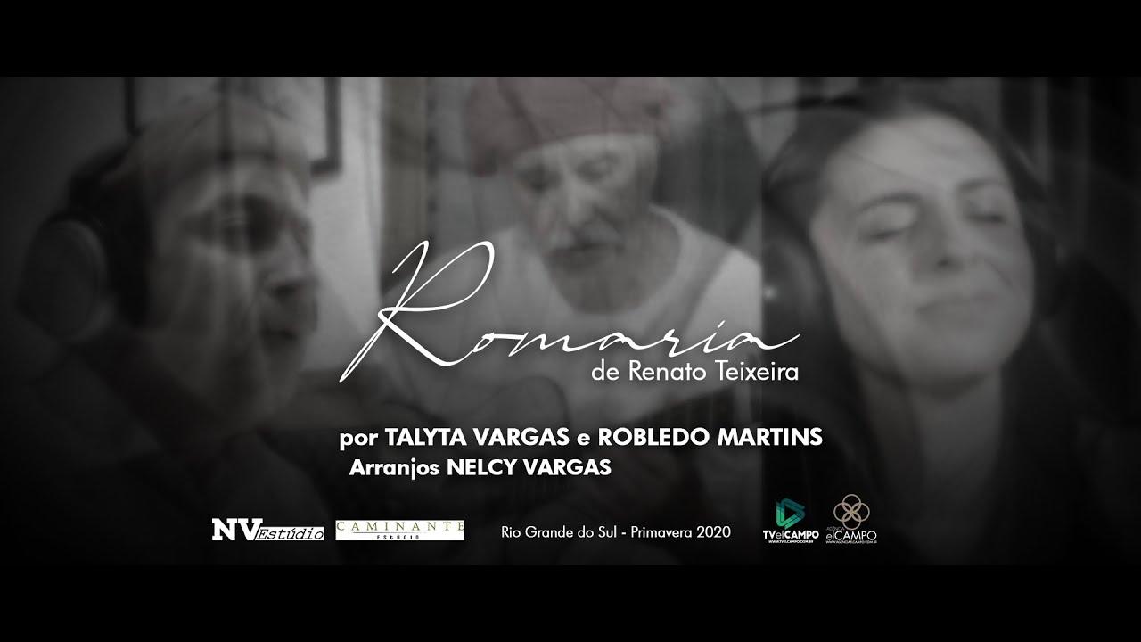 "Talyta Vargas grava cover de ""Romaria"" com o cantor Robledo Martins"
