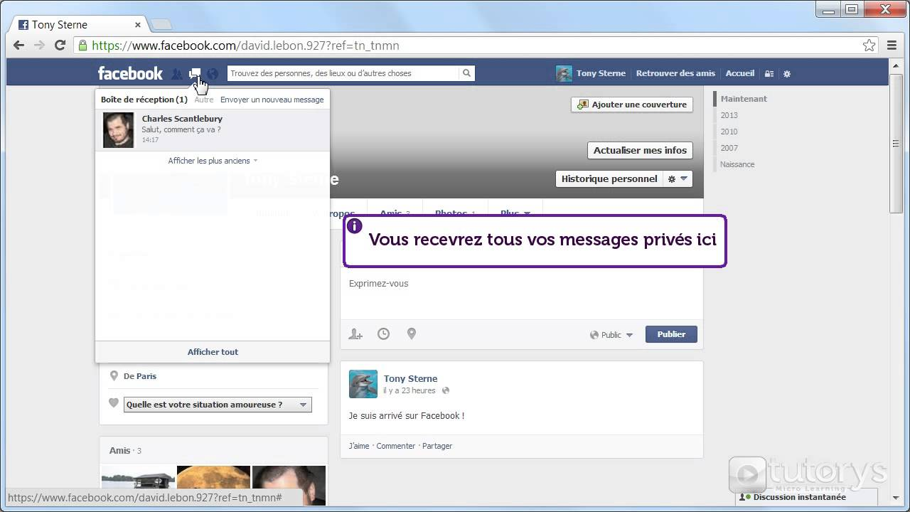 comment espionner conversation facebook