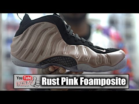 the latest 133bf d943d Do Not Buy Elemental Rose Foamposite Rust Pink before ...