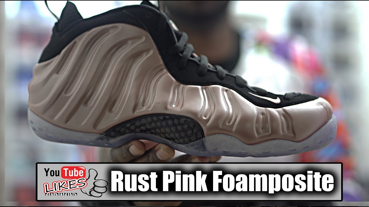 37fa8ef3fba9c Do Not Buy Elemental Rose Foamposite Rust Pink before watching this Review!