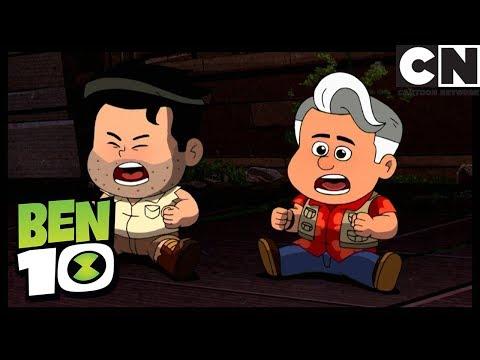 Ben 10   Grandpa Max Turns Into A Baby   Baby Buktu   Cartoon Network