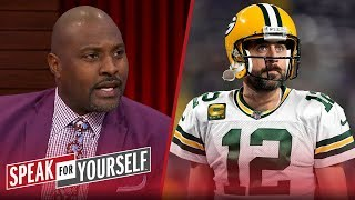 Aaron Rodgers is not the reason the Packers are winning — Marcellus Wiley | NFL | SPEAK FOR YOURSELF