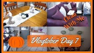 🎃Speed Clean With Me | Cleaning Motivation 2018 | Vlogtober Day 7 | Zen Chini Vlogs