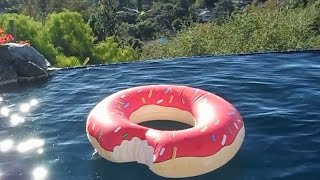 Gigantic Donut Pool Float by Big Mouth Toys