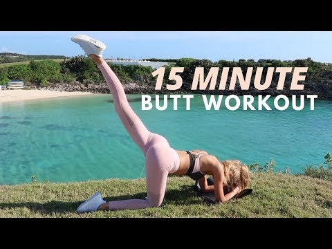 15 Minute BUTT Workout - Fitness Series With Romee Strijd
