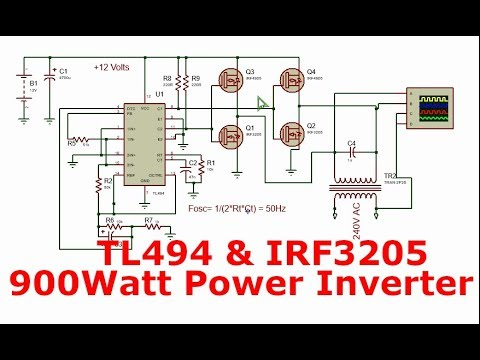 Full Download] 1000watt Full Bridge Power Inverter With Tl494