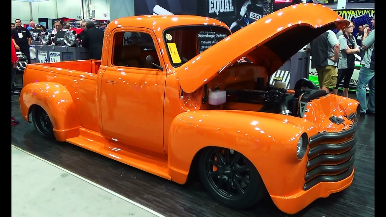 52 Chevy Pickup Quot Vicarious Quot Sema 2014 Youtube