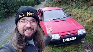 Skoda Favorit (NOT Forman) - Detailed walkaround, lack of oil, road test!