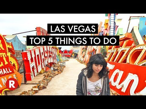 Top 5 Things To Do In Las Vegas (That Are Not Casinos)!