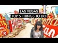 Top 5 Things To Do In Las Vegas (That Are Family Friendly)!