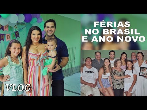 Férias no Brasil e Ano Novo