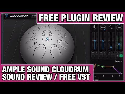 Ample Sound - Cloudrum Sound Review (Free VST Instrument)