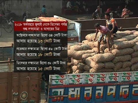 সোনা মসজিদ স্থলবন্দরে বাধাগ্রস্ত আমদানি কার্যক্রম | Ports of Bangladesh | Somoy TV
